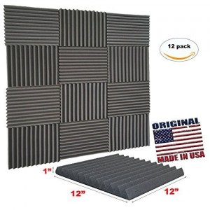 Mybecca Acoustic Wedge Studio Soundproofing Foam Wall Tiles