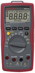 Amprobe AM-510 CommercialResidential Multimeter with Non-Contact Voltage Detection