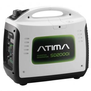 Atima SD2000i 2,000 Watt 4-Stroke Gas-Powered Quiet Portable Inverter Generator,CARB Compliant