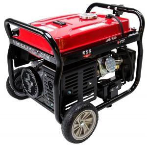 Carb and EPA III certified Merax 4050-Watt 7.0 HP OHV 4 Gallon Gas Powered Portable Generator with Wheel Kit (4050 Watt)