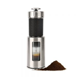 Coffee Maker STARESSO Manual Coffee Machine with Espresso Cappuccino Quick Cold Brew All in One