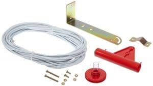 Dwyer Outdoor Static Pressure Sensor, Includes Sensor, 50 ft Vinyl Tubing, Mounting Bracket and Hardware