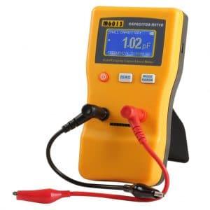 Floureon M6013 Digital Capacitor Meter Tester Capacitance Range 0.01pf to 47000uf