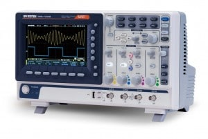 GW Instek GDS-1104B Digital Storage Oscilloscope, 4-Channel, 1 GSas Maximum Sampling Rate, 100 MHz, 10M Maximum Memory Depth