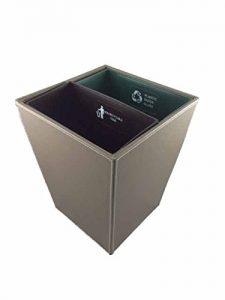 Hospitality Source Recycling Waste Bin, Standard, Dark Brown