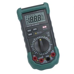 MASTECH MS8264 2000 Counts Digital Multimeter AC DC Capacitance Tester Detector with Transistor Check and Diode