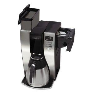 Mr. Coffee BVMC-PSTX91 Optimal Brew 10-Cup Thermal Coffeemaker, BlackStainless Steel