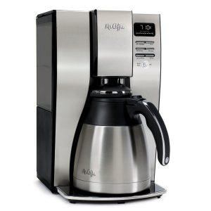 Mr. Coffee BVMC-PSTX95 10 Cup Optimal Brew Thermal Coffeemaker, Stainless Steel