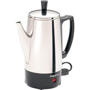 Presto 02822 6-Cup Stainless-Steel Coffee Percolator