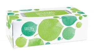 Seventh Generation, Facial Tissue box 2-ply 175 count