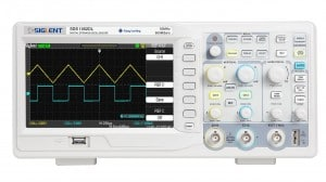 Siglent SDS1052DL Digital Storage Oscilloscope with Frequency Counter, 50MHz, 7'' TFT-LCD Display