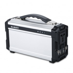 Suaoki Portable Generator Battery 20,000mAh Gas-free Quietly Solar or DC 12V Adapter Powered Built-in Inverter with Outputs AC 100V110V50Hz(Max 200W) USB 1A DC 12V5A
