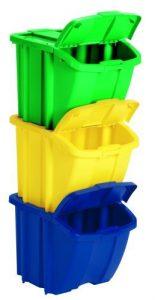 Suncast Recycle Bin Kit BH183PK