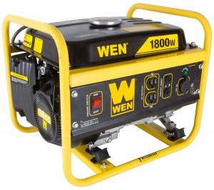 WEN 56180, 1500 Running Watts1800 Starting Watts, Gas Powered Portable Generator, CARB Compliant