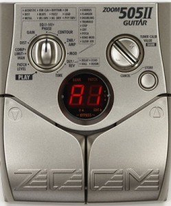 Zoom 505 II Multi-effects Electric Guitar Pedal