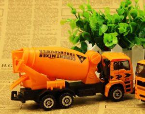 Aivtalk Children Mighty Cement Mixer Truck Sliding Construction Toy Vehicles Playset