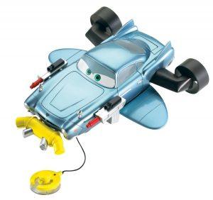 Cars Finn Bath Blasting Vehicle Playset