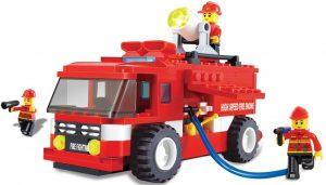Fire truck emergency series building blocks 180pcs play set