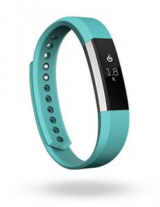 Fitbit Alta Fitness Tracker, SilverTeal, Small