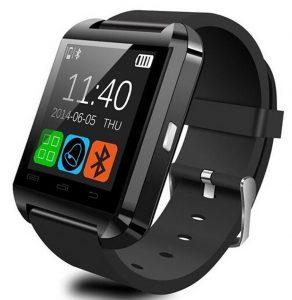 Fixing_DIY Bluetooth Android Smart Mobile Phone U8 Wrist Watch - Black