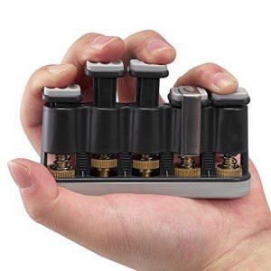 Foto4easy Guitar Beginner Hand Exerciser Finger Strengthener Trainer