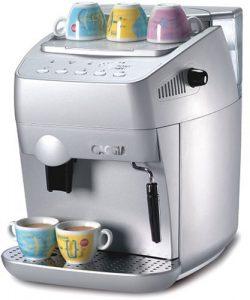 Gaggia 9306 Syncrony Compact Super-Automatic Espresso Machine, Silver