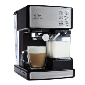 Mr. Coffee Cafe Barista Espresso Maker with Automatic milk frother, BVMC-ECMP1000