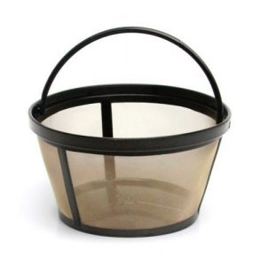 NEW Mr. Coffee GTF2 Basket Style 10-12 Cup Gold Tone Permanent Coffee Filter