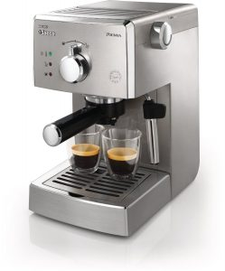 Philips Saeco HD832747 Poemia Top Espresso Machine, Stainless Steel