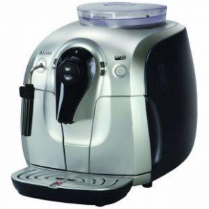Saeco Xsmall Plus Super Automatic Espresso Machine, Aluminum (Use for store Display)