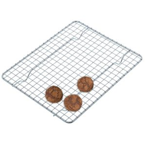(Set of 4) Half-Size, Heavy Duty Wire Pan Grate