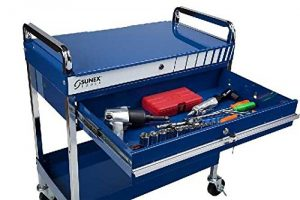 Sunex 8013ABL Sunex 8013ABL Service Cart with Locking Top and Drawer