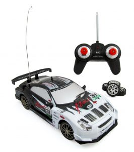 Super Fast Drift King RC Sports Car Remote Control Drifting Race Car 124 + Headlights