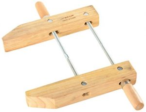 ATE Pro. USA 30142 Wood Handscrew Clamp, 12