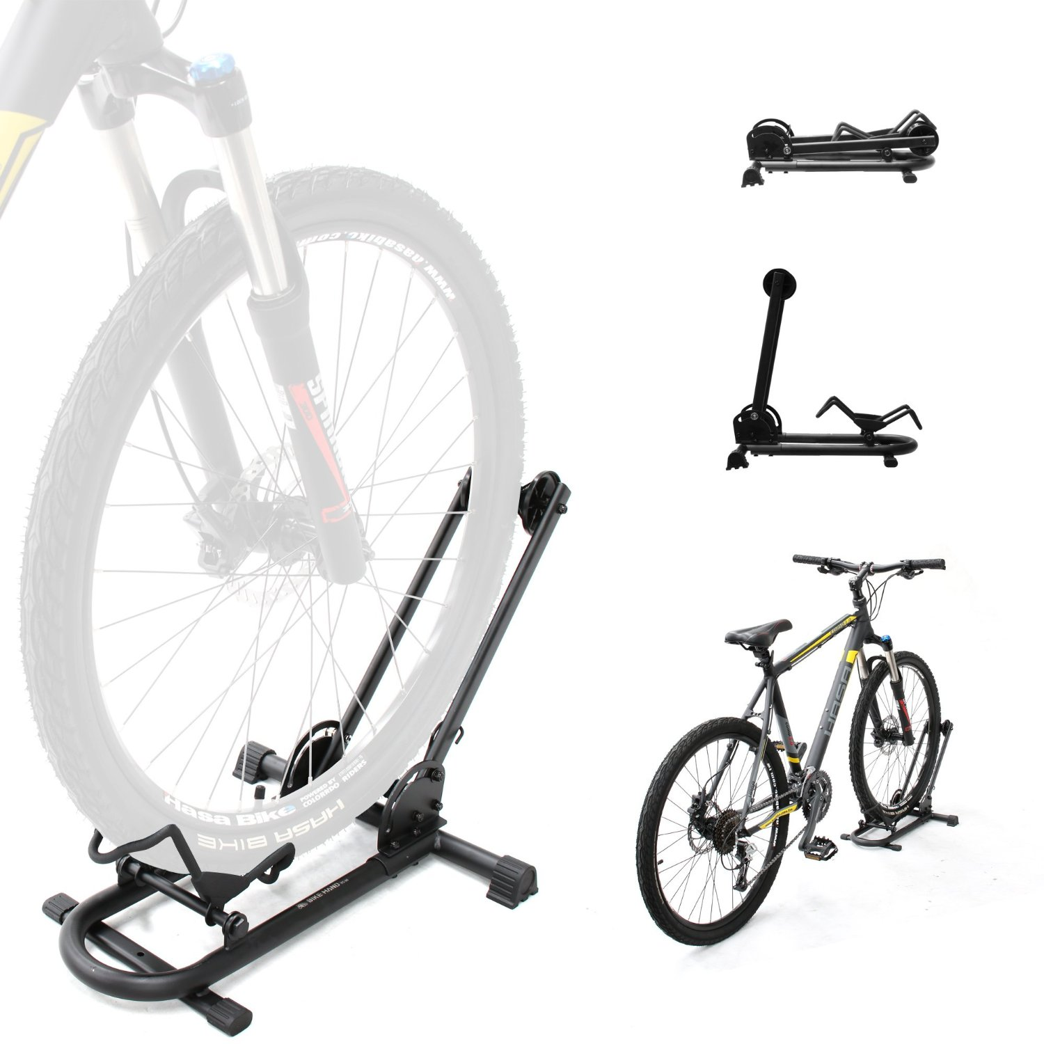 BIKEHAND Bike Floor Mounted Type Parking Rack Storage Stand Bicycle