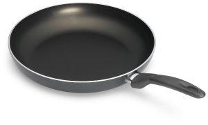 Bialetti 6168 Italian Collection Saute Pan, 12-inch, Charcoal