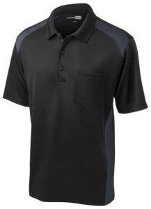 Cornerstone Men's Moisture Wicking Pocket Polo Shirt