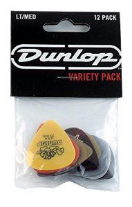 Dunlop PVP101 Pick Variety Pack, Assorted, LightMedium, 12Player's Pack