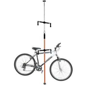 Earthmount Wall Mount Two Bike Storage Bike Rack
