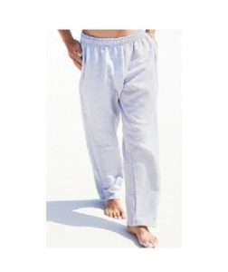 Fleece Open Bottom Sweat Pant with Pockets