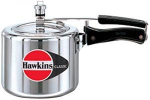 HAWKIN Classic CL3T 3-Liter New Improved Aluminum Pressure Cooker, Small