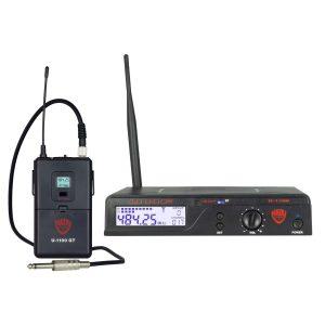 Nady U-1100 GT 100-Channel UHF Wireless InstrumentGuitar System