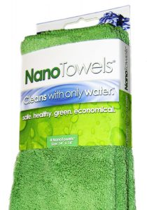 Nano Towels ® The #1 Best Selling Eco Friendly Chemical Free Cleaner. As Seen On TV! The Breakthrough New Fabric Technology That Cleans with Only Water