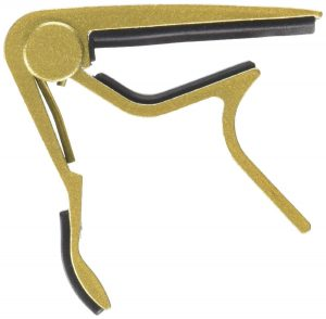 Neewer® Golden Single-handed Guitar Capo Quick Change for Electric or Acoustic 6-String Guitar