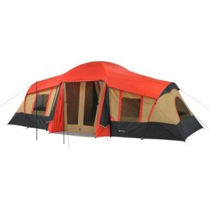 Ozark Trail 8-Persons Family Tent W// Rear Window Outdoor Camping Hiking Shelter