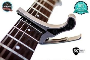 Perfect Pitch Guitar Capo for Acoustic Guitars & Electric Guitars - Best Quick Change Guitar Capo For 6 String Guitars