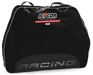 SCICON Travel Plus Racing Bike Travel Case Black