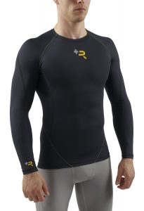 SUB Sports ELITE R+ Mens Recovery Compression Top - Long Sleeve Base Layer