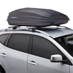 SportRack SR7018 Vista XL Rear Opening Cargo Box, 18-Cubic Feet, Black