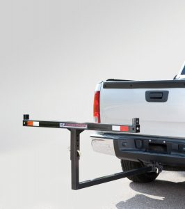 Tricam SLE-1 2 in 1 E-Z Hitch Mounted Load Extender, 350-Pound Capacity, Black Finish
